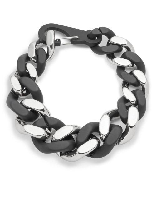 Philipp Plein Necklace Zwart/Nickel