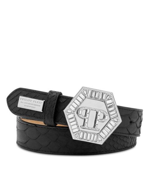 Philipp Plein Pth Belt Luxury Zwart #256