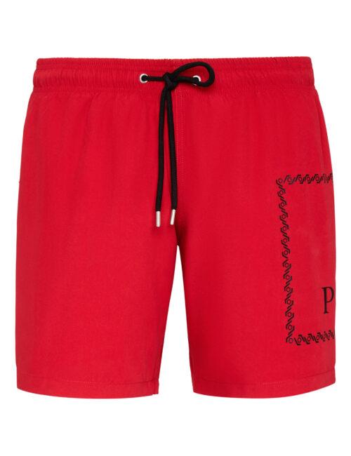Philipp Plein Beachwear Short Trousers Rood