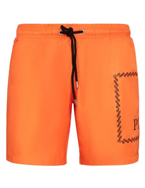 Philipp Plein Beachwear Short Trousers Oranje