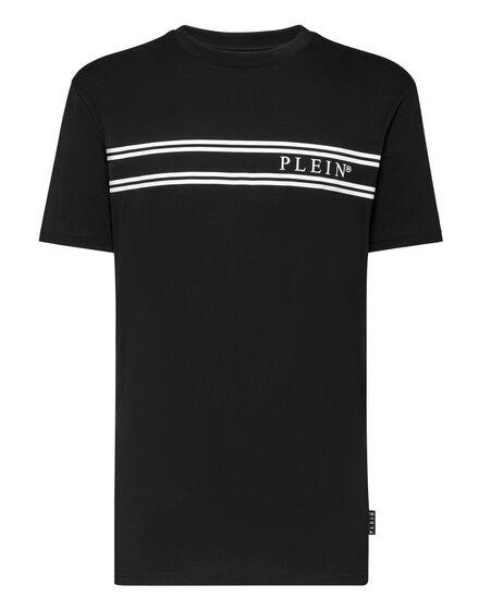 Philipp Plein T-Shirt Stripes Zwart