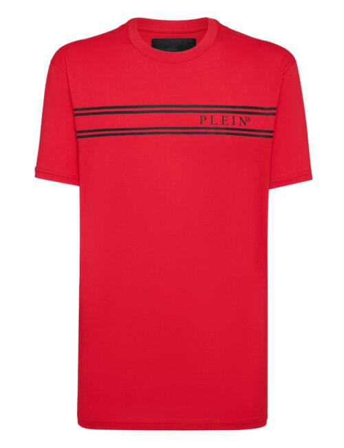 Philipp Plein T-Shirt Stripes Rood