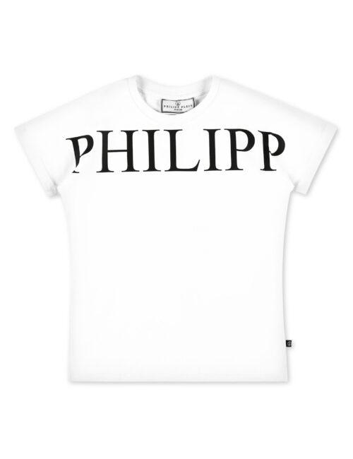 Philipp Plein T-Shirt SS Iconic Plein Wit (12-16J.)