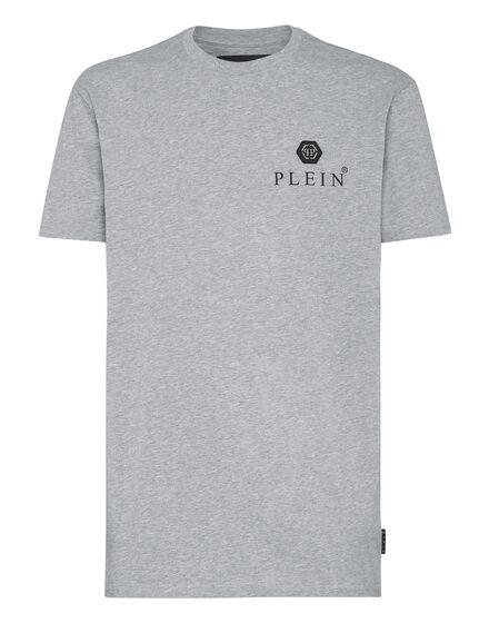 Philipp Plein T-Shirt Round Neck SS Iconic Plein Grijs