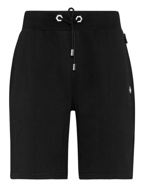 Philipp Plein Jogging Shorts Iconic Zwart