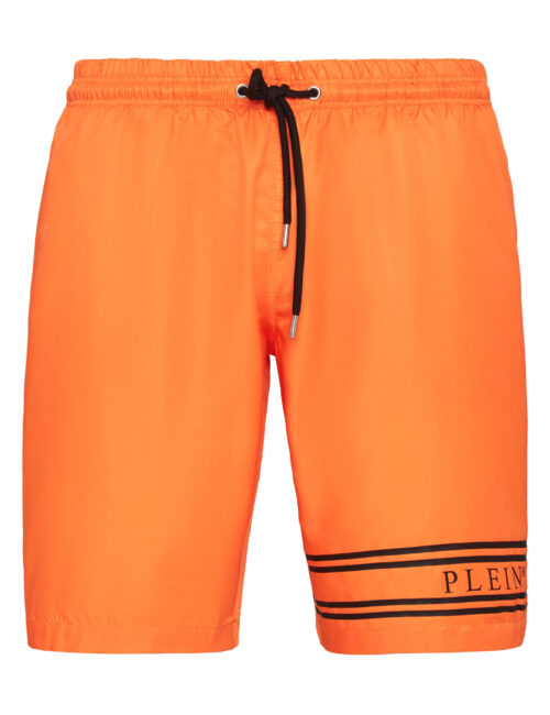 Philipp Plein Beachwear Stripes Oranje