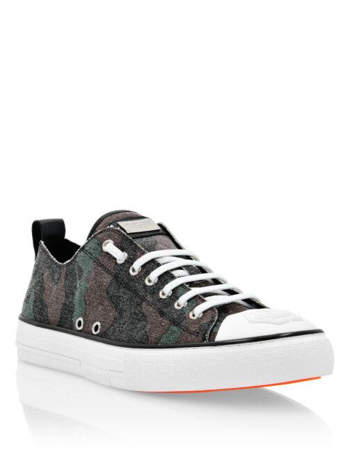 Philipp Plein Canvas Sneakers Megastar Camo/Groen