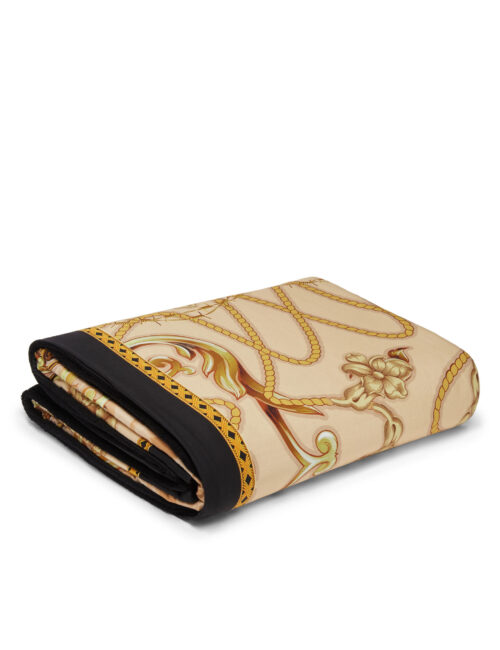 Philipp Plein Towel New Baroque Beige