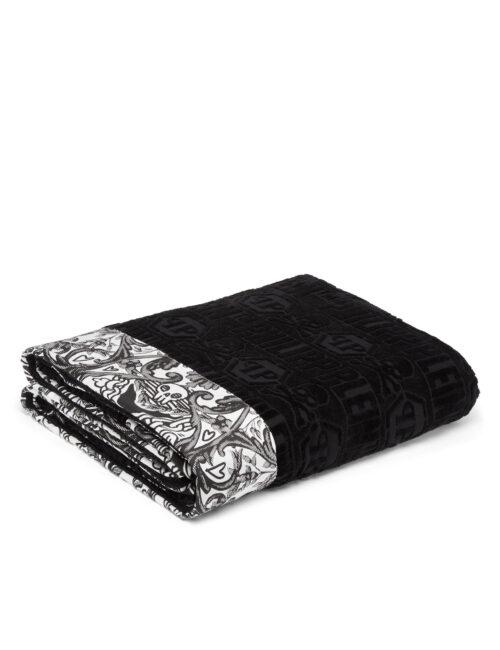 Philipp Plein Towel New Baroque Zwart/Wit