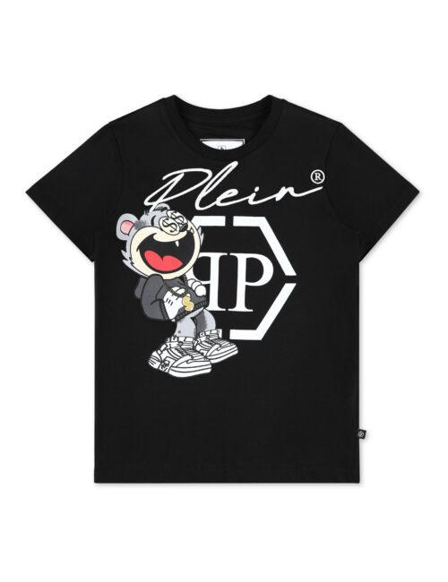 Philipp Plein T-Shirt Round Neck Zwart