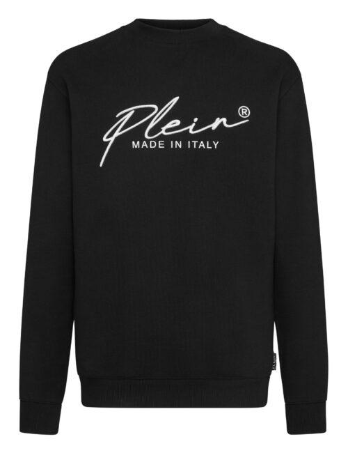 Philipp Plein Sweatshirt Signature Zwart