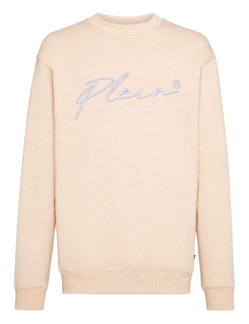 Philipp Plein Sweatshirt Signature Beige