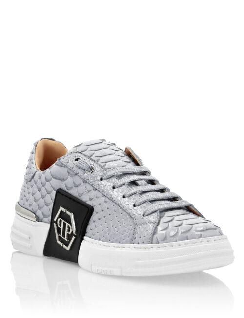 Philipp Plein PTH Sneakers Phantom Platinum Licht Grijs