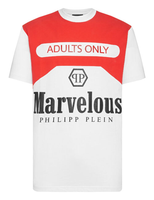 Philipp Plein T-Shirt Round Neck Marvelous Wit