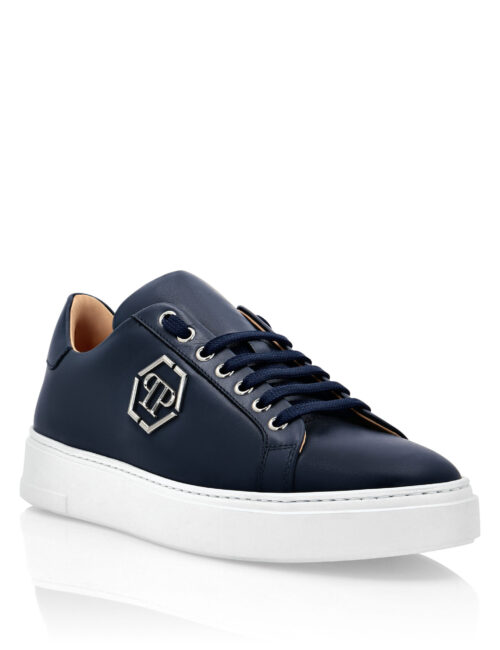 Philipp Plein Lo-Top Sneakers The Plein Original Donker Blauw