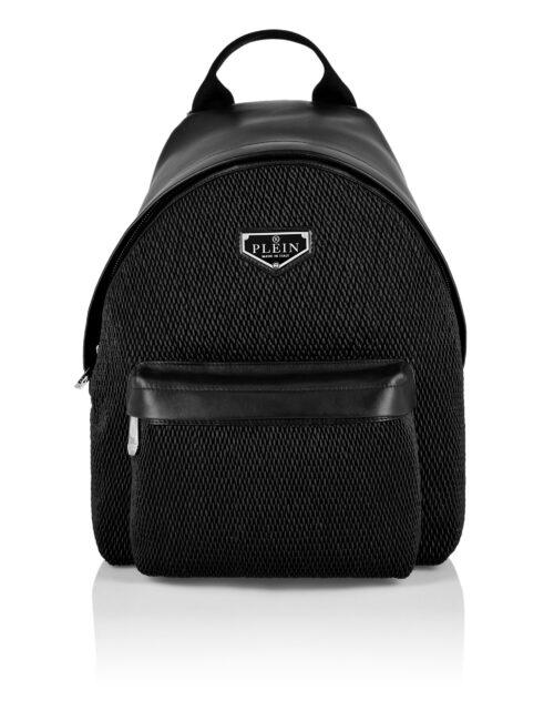 Philipp Plein Backpack Iconic Plein Zwart