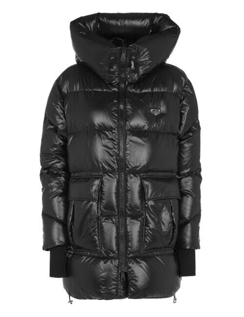 Philipp Plein Nylon Jacket Iconic Zwart