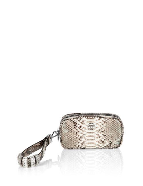 Philipp Plein PTH Clutch Luxury Beige
