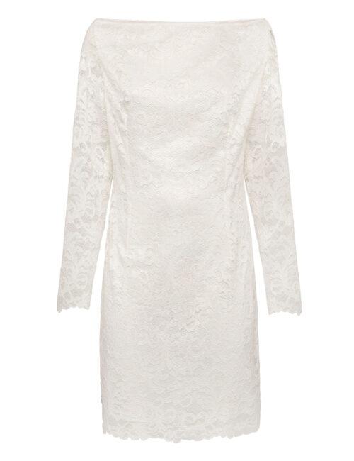 Philipp Plein Short Dress Lace Cream